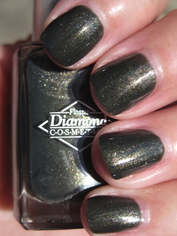Diamond Cosmetics Never So Ever Green1 Green Nail Polish for St. Patricks Day!!!