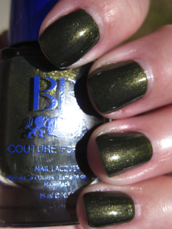 BB Couture Grenade Green Nail Polish for St. Patricks Day!!!