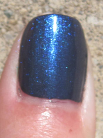 CND Asphalt with Ice Blue Shimmer
