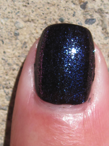 CND Blackjack with Sapphire Sparkle