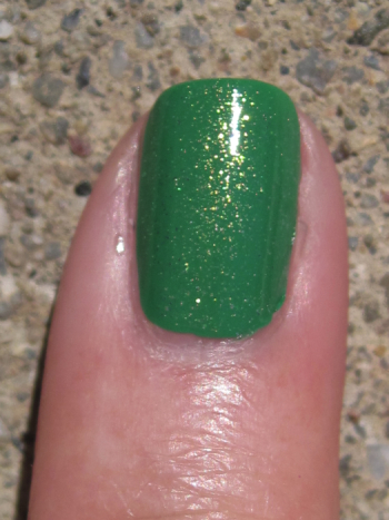 CND Green Scene with Jade Sparkle