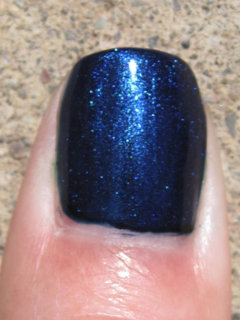 CND Inkwell with Ice Blue Shimmer