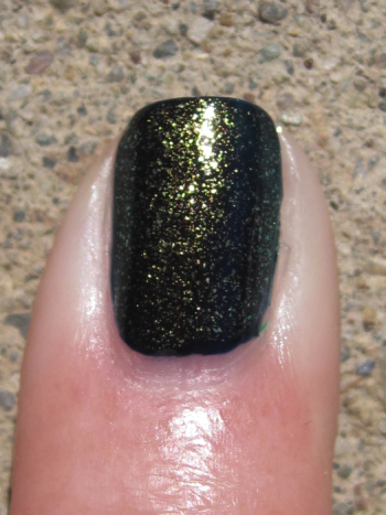CND Inkwell with Jade Sparkle