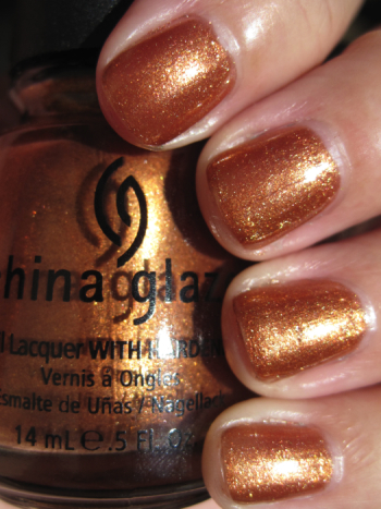 China Glaze In Awe Of Amber