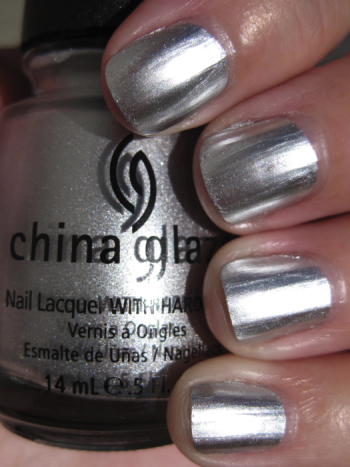 China Glaze Chrome Nail Polish Swatches And Review Vampy Varnish