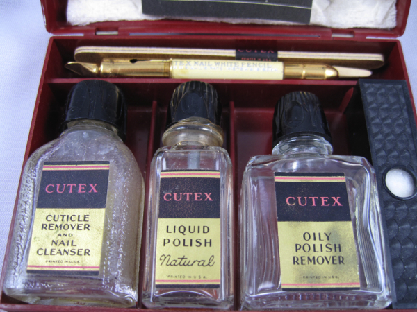 Vintage Cutex Manicure Set Circa 1920 S 1930 S Vampy Varnish