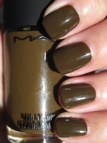 MAC Dry Martini Green Nail Polish for St. Patricks Day!!!
