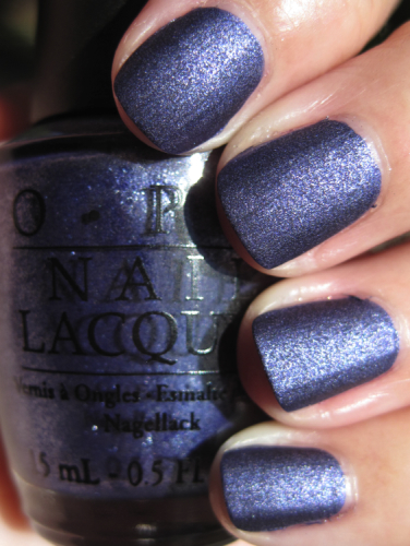 OPI Russian Navy Suede OPI Suede Collection Fall 2009
