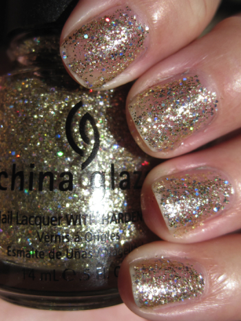 China Glaze Medallion
