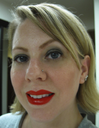 Me with Red Lip