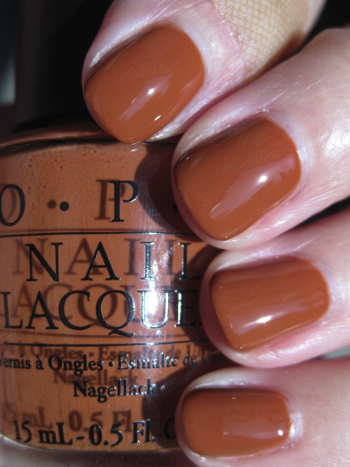 OPI Ginger Bells!