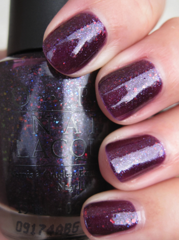 OPI Merry Midnight OPI Holiday Wishes for Winter 2009 Swatches and Review