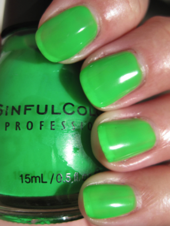 Sinful Irish Green