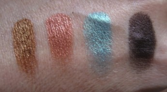 Stila Charmed Swatches