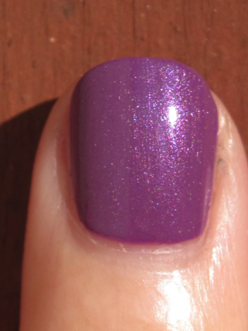 CND Electric Purple with Violet Shimmer Effect
