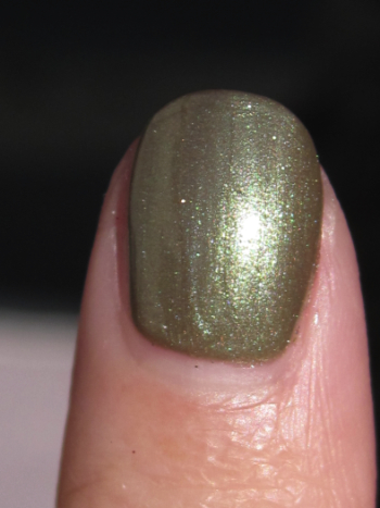 China Glaze Out On Safari Macro