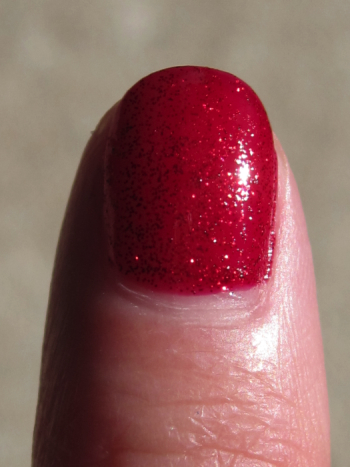 China Glaze Ruby Pumps Macro