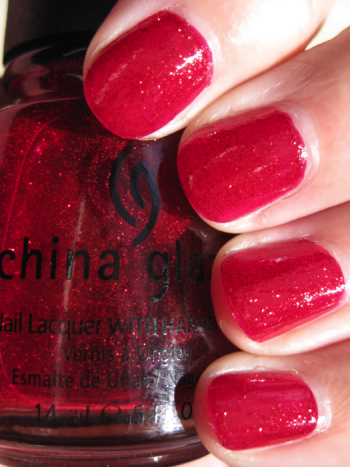 China Glaze Ruby Pumps