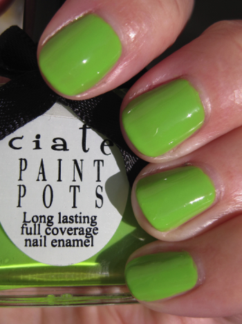 Ciate Mojito Green Nail Polish for St. Patricks Day!!!
