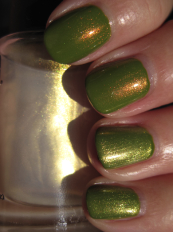 L.A. Girl Flare with CND Effects
