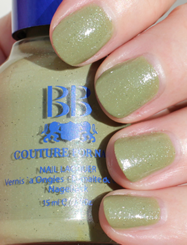 BB Couture Kellys Green Green Nail Polish for St. Patricks Day!!!