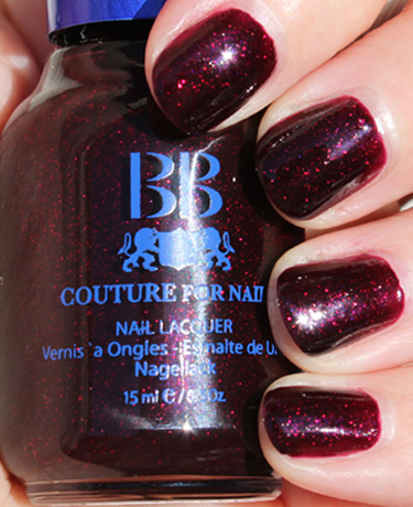 BB Couture Napa Valley Red A Plethora of Red & Pink Nail Polish for Valentines Day