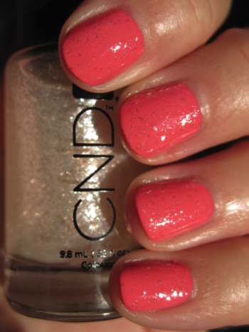 CND Sweet with Sugar Sparkle effect