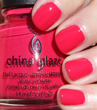 China Glaze Heli Yum A Plethora of Red & Pink Nail Polish for Valentines Day