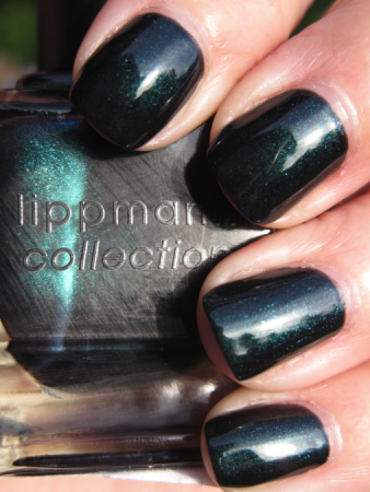 Deborah Lippmann Dont Tell Mama Vampy Varnish Favs Featuring: Green