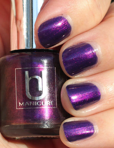 HJ Manicure Tinsel HJ Manicure Nail Varnish Swatches and Review