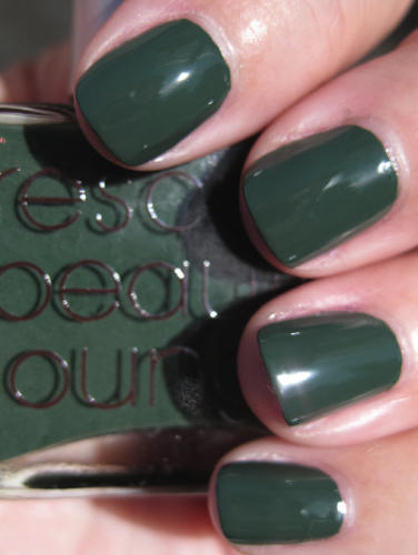 Rescue Beauty Lounge Orbis Non Sufficit Vampy Varnish Favs Featuring: Green