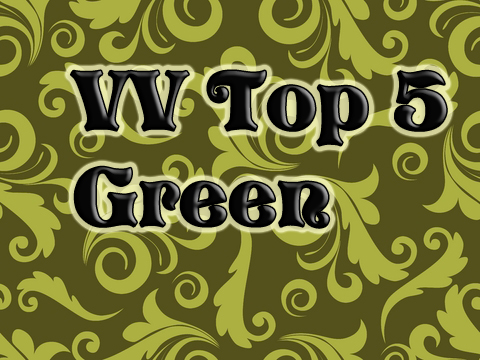 VV Top 5 Green Vampy Varnish Favs Featuring: Green