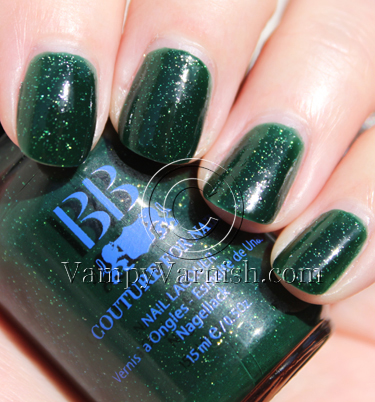 BB Couture Saturday Night Fever Green Nail Polish for St. Patricks Day!!!