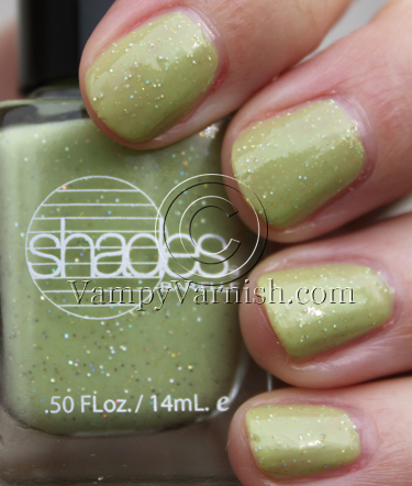 Barielle Myrzas Meadow Green Nail Polish for St. Patricks Day!!!