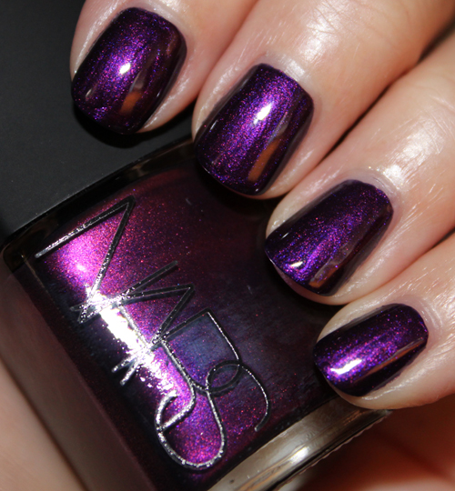 Nars Purple Rain 2 A Look Back: Vampy Varnish Favs Featuring: Purple