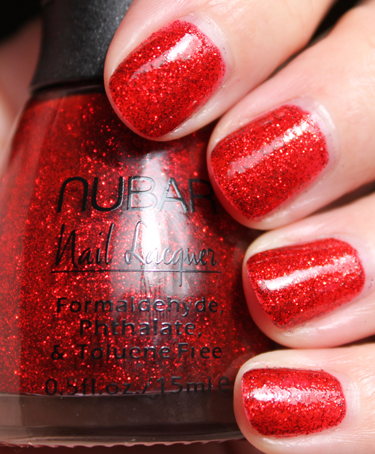 Nubar Fire Sparkles A Plethora of Red & Pink Nail Polish for Valentines Day