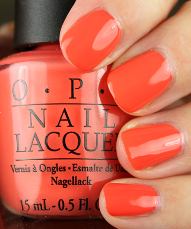 OPI Hot Spicy OPI Hong Kong Collection for Spring 2010 Swatches and Review   Part I