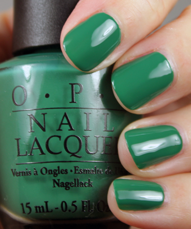 OPI Jade Is The New Black OPI Hong Kong Collection for Spring 2010 Swatches and Review   Part I