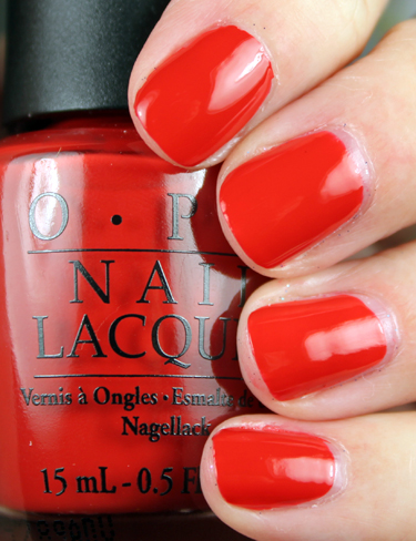 OPI Off with Her Red OPI Alice in Wonderland Collection Swatches and Review