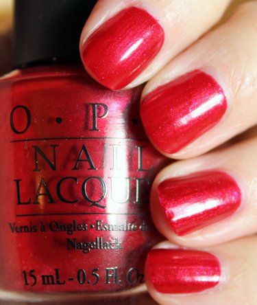 OPI Thanks So Muchness OPI Alice in Wonderland Collection Swatches and Review
