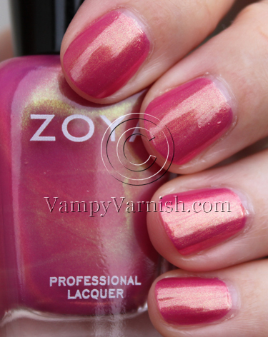Zoya Reece A Plethora of Red & Pink Nail Polish for Valentines Day