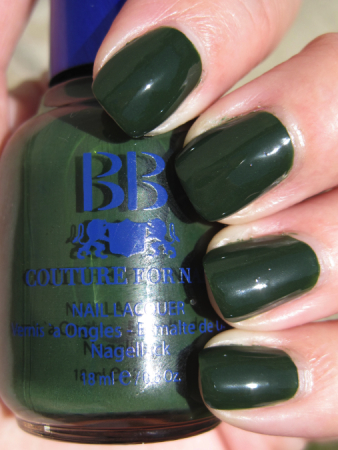 BB Couture Green Goblin Green Nail Polish for St. Patricks Day!!!