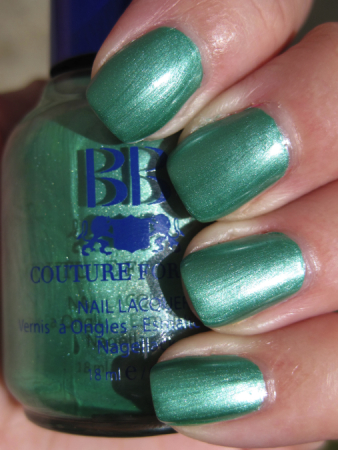 BB Couture Venom Green Nail Polish for St. Patricks Day!!!