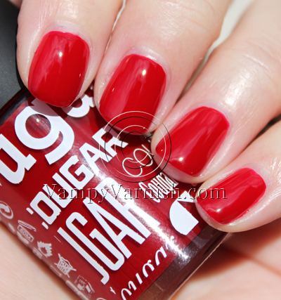 Cheeky Monkey Cougar A Plethora of Red & Pink Nail Polish for Valentines Day