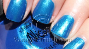 Nicole by OPI Wild Blue Yoder
