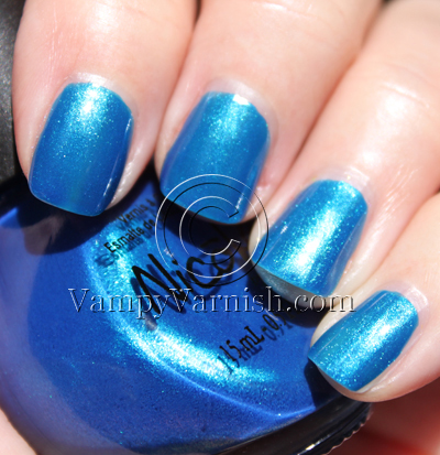 nicole by opi spring 2010 nail polish swatches review vampy varnish