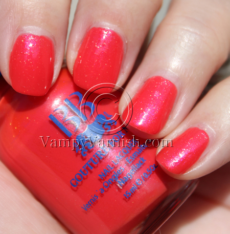 BB Couture Ode To A Ladybug A Plethora of Red & Pink Nail Polish for Valentines Day