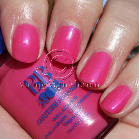 BB Couture Skipper A Plethora of Red & Pink Nail Polish for Valentines Day