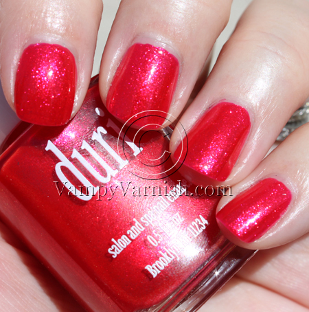 Duri Bombshell A Plethora of Red & Pink Nail Polish for Valentines Day