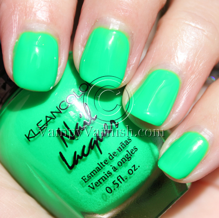 Kleancolor Neon Collection Summer 2010 Swatches & Review | Vampy Varnish